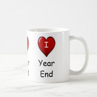 I Love Year end! Triple-sided Mugs