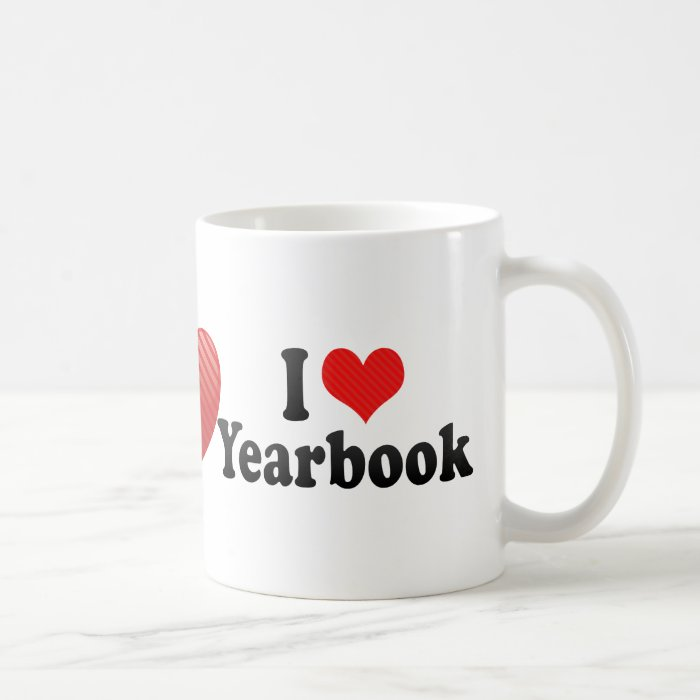 I Love Yearbook Coffee Mug