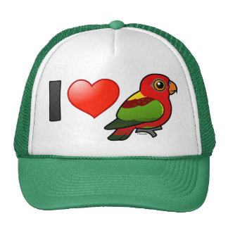 I Love Yellow-backed Lories Trucker Hat