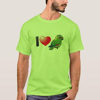 I Love Yellow-naped Amazons T-Shirt