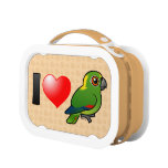 I Love Yellow-naped Amazons Yubo Lunch Boxes