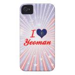 I Love Yeoman, Indiana iPhone 4 Cases