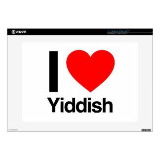i love yiddish laptop skins