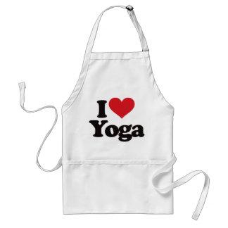 I Love Yoga Adult Apron