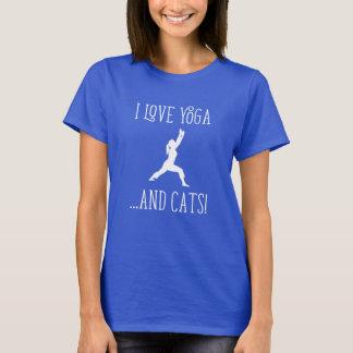 I love Yoga and Cats 2 Women T-shirt