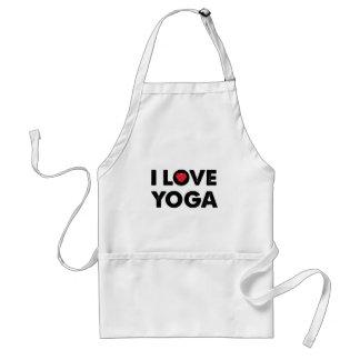 I love yoga apron