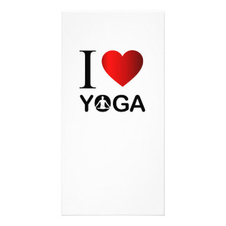 I love yoga card
