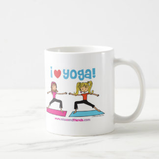 i love yoga coffee mug