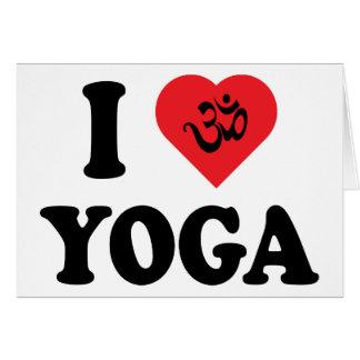 I Love Yoga Gift Card