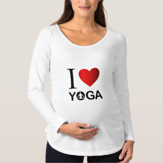 I love yoga maternity T-Shirt