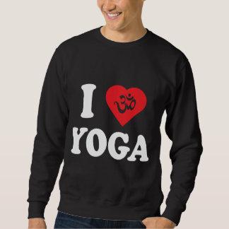 I Love Yoga Men's Dark T-Shirts