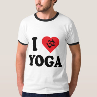 I Love Yoga Men's T-Shirts