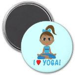 I Love Yoga! Refrigerator Magnets
