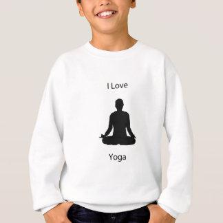 I love yoga sweatshirt