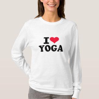 I love Yoga T-Shirt
