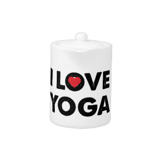 I love yoga teapot