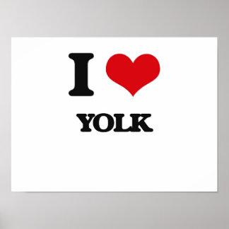 I love Yolk Poster