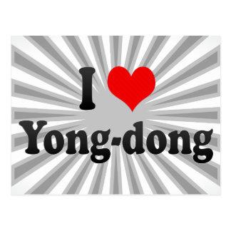 I Love Yong-dong Korea Post Cards