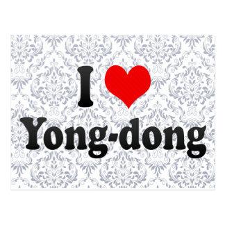 I Love Yong-dong Korea Postcard