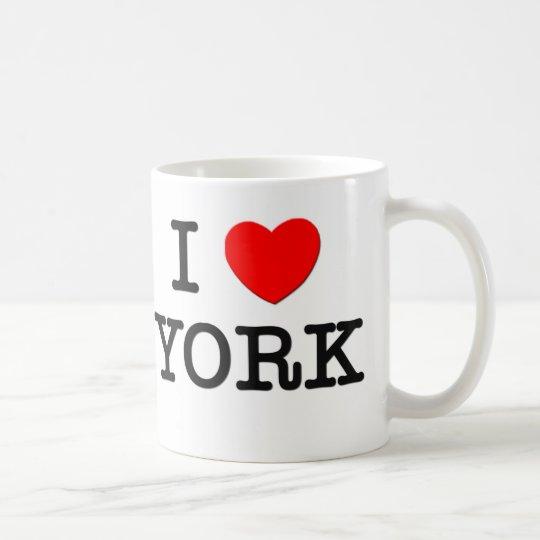 I Love York Coffee Mug