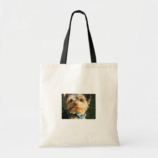I Love Yorkies Budget Tote Bag