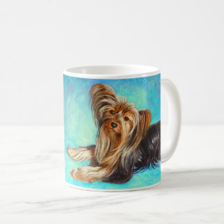 """I Love Yorkies"" dog - Coffee Mug"