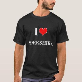 I Love Yorkshire Tee Shirt