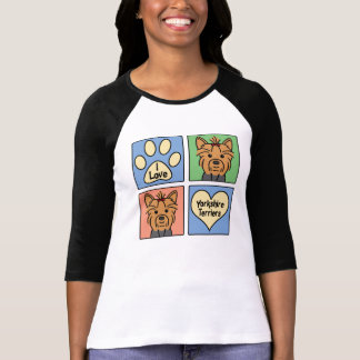 I Love Yorkshire Terriers T Shirt