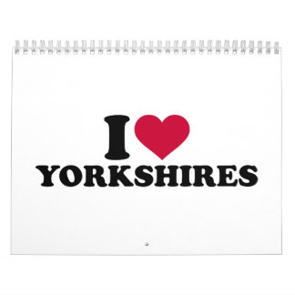I love Yorkshires Calendar