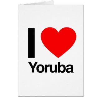 i love yoruba cards