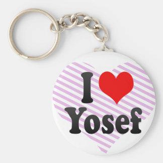 I love Yosef Keychain