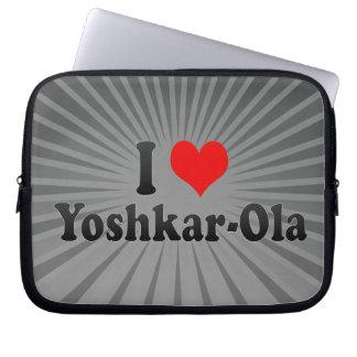 I Love Yoshkar-Ola Russia Laptop Sleeve
