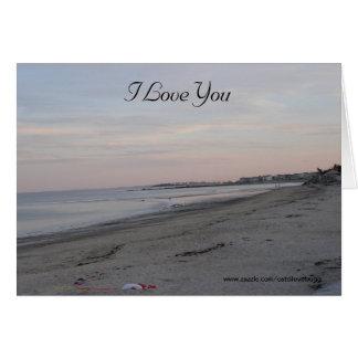 I Love You 1st Anniversary Greeting Card