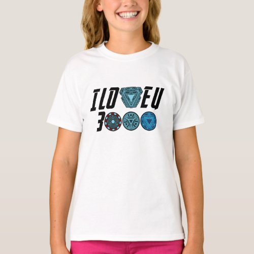 I love you 3000 Kids T_shirt