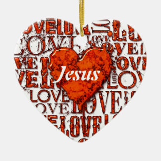 I Love You 6 Ornament