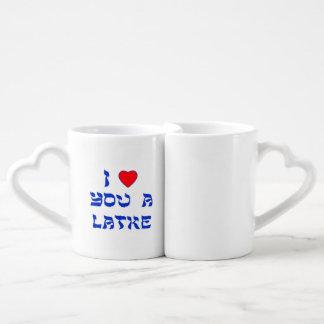 I Love You a Latke Coffee Mug Set