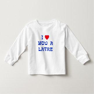 I Love You a Latke T-shirt