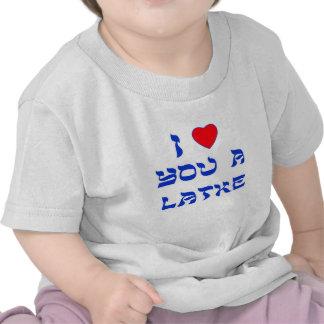 I Love You a Latke Tshirts