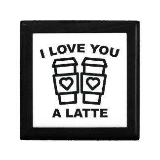 I Love You A Latte Gift Box