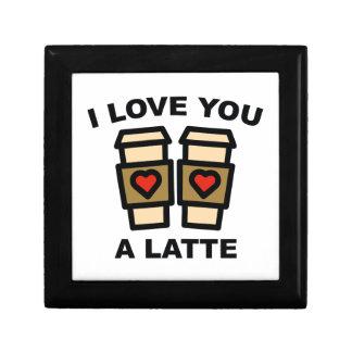 I Love You A Latte Keepsake Box