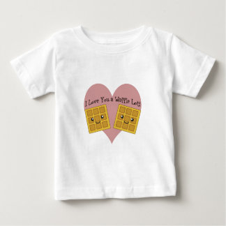 I Love You a Waffle Lot! Baby T-Shirt