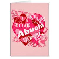 I Love You Abuela Card