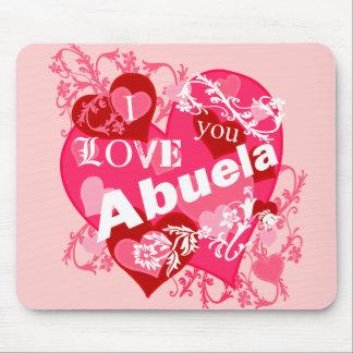 I Love You Abuela Mouse Pad
