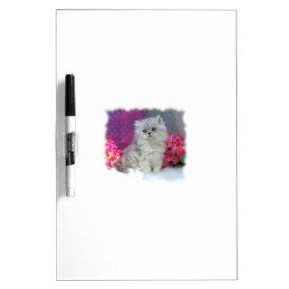 I Love You Always! Persian Kitten Dry-Erase Board