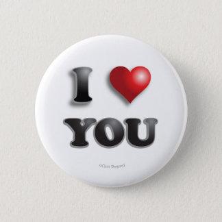 I LOVE YOU Anti Microagression Positive Good Happy Pinback Button