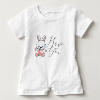 I Love You Baby Romper