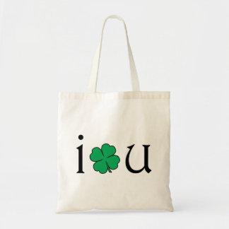 I Love You. Budget Tote Bag
