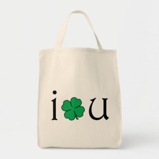 I Love You. Grocery Tote Bag