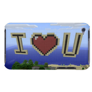 I love you barely there iPod case