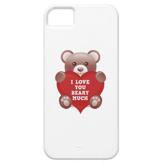 I Love You Beary Much iPhone SE/5/5s Case